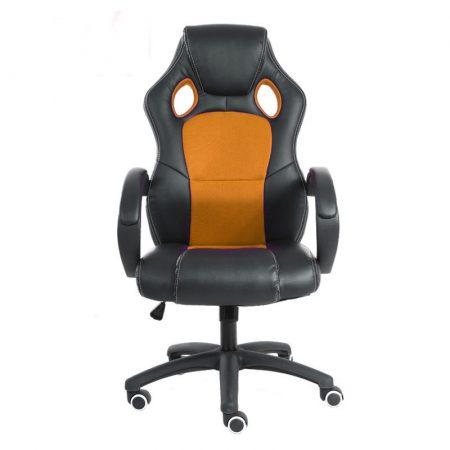 Gamer szék basic, Narancssárga -Sokat vagy fent a világhálón? Felejtsd el az elgémberedett ízületeket!