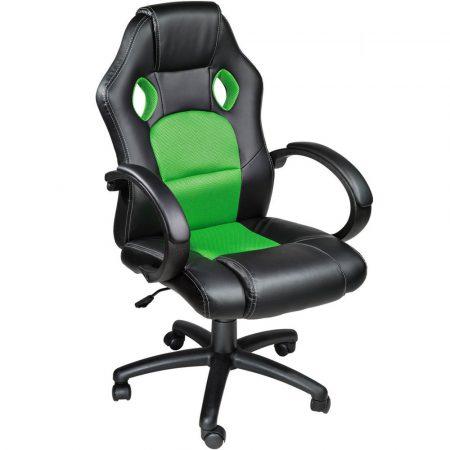 Gamer szék basic, Zöld -Sokat vagy fent a világhálón? Felejtsd el az elgémberedett ízületeket!