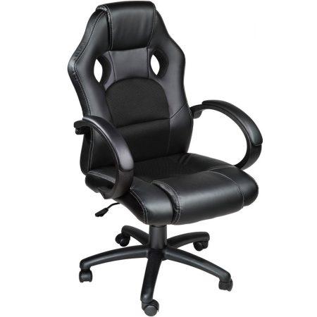 Gamer szék basic, fekete -Sokat vagy fent a világhálón? Felejtsd el az elgémberedett ízületeket!