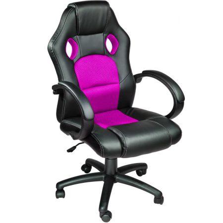 Gamer szék basic, Pink -Sokat vagy fent a világhálón? Felejtsd el az elgémberedett ízületeket!