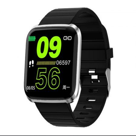 ID116 PRO smart watch -black-
