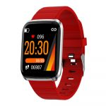 ID116 smart watch -red-
