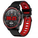 L8 smart watch red