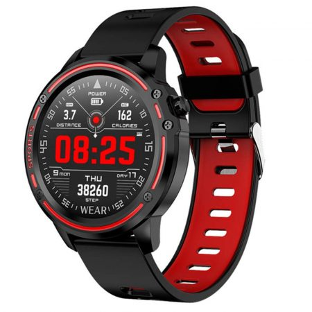 L8 smart watch red