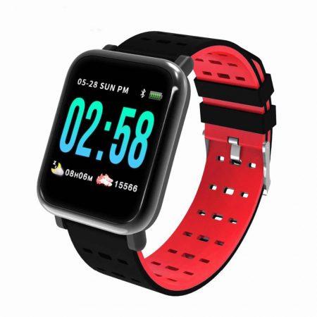 A6 smart watch red