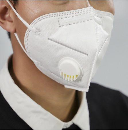 KN95 FFP2 Egészségügyi maszk fillteres (1Db)