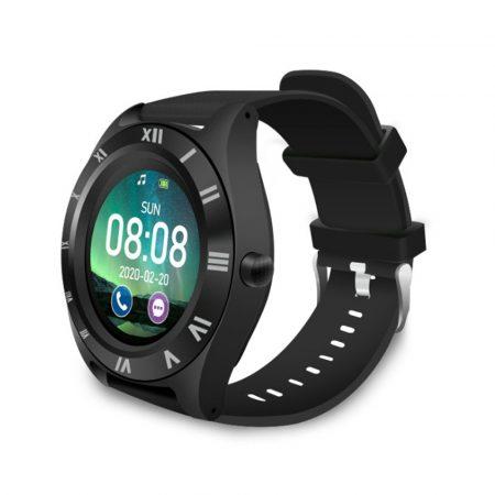 M11 smart watch with black strap