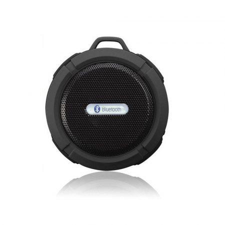 C6 vízálló Bluetooth hangszóró - fekete