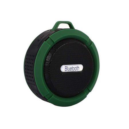 C6 vízálló Bluetooth hangszóró - zöld