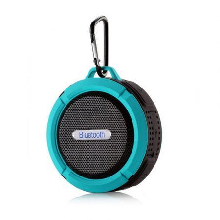 C6 vízálló Bluetooth hangszóró - kék