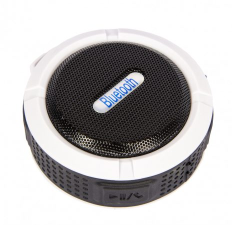 C6 vízálló Bluetooth hangszóró - fehér