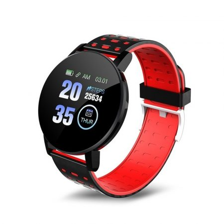 ID119 Plus Smart Bracelet Red