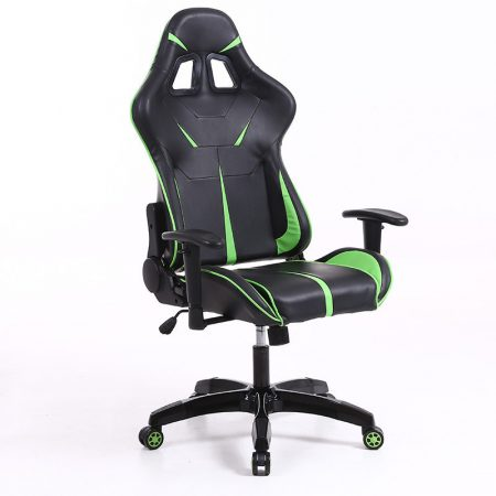 Sintact Gamer chair Green-Black without footrest -Received! Latest design, even more comfortable surface!