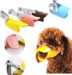 Duck beak-shaped muzzle for dogs. L-size