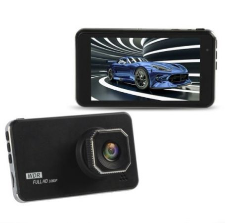 AlphaOne C800A 4-inch car camera with touch screen