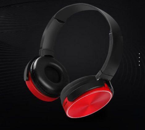 Crispy 450TB Piros Bluetooth headset