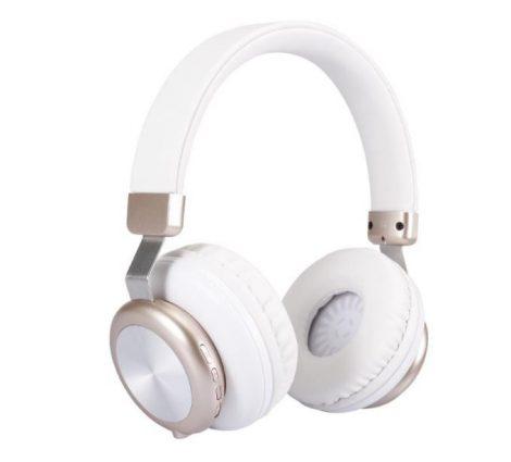 Sol H4 Bluetooth headset Fehér