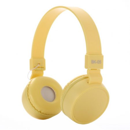 Liro bk05 headset sárga