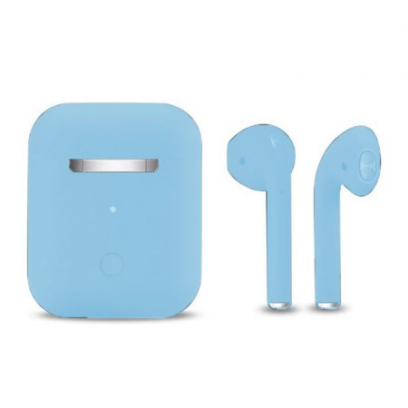 Inpods 12 Macaron Kék - soft touch vezérléssel, matt felülettel