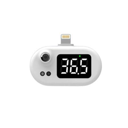 Mobiltelefon hőmérő – iPhone csatlakozás