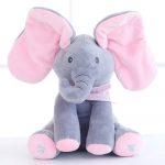 Éneklő kis elefánt - rózsaszín