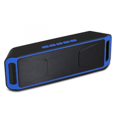SC208 Bluetooth Megabass Hangszoró kék