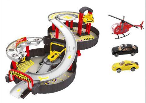 Parkolóház gyerek játék (v1)