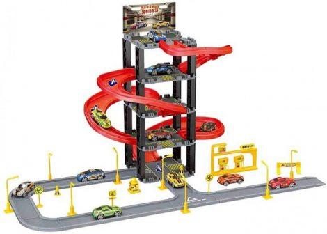 Parkolóház gyerek játék (v2)