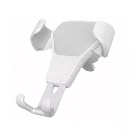 Gravitációs autós telefon tartó fehér