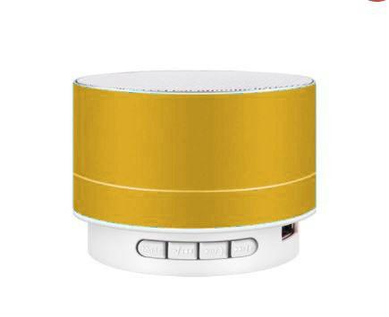 A10 Bluetooth hangszoró fémes sárga