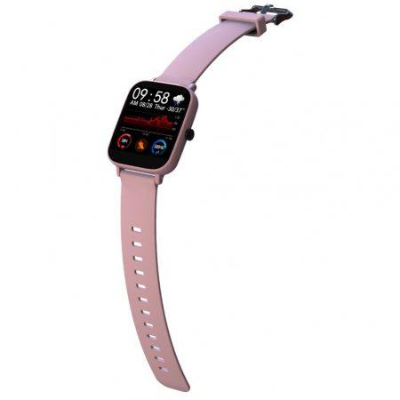 Akela GT168 -P9 pulzusmérő rózsaszín okos óra