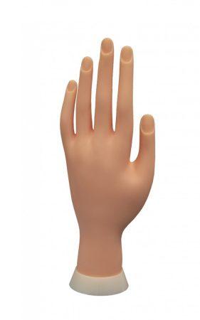 Műköröm gyakorló kéz